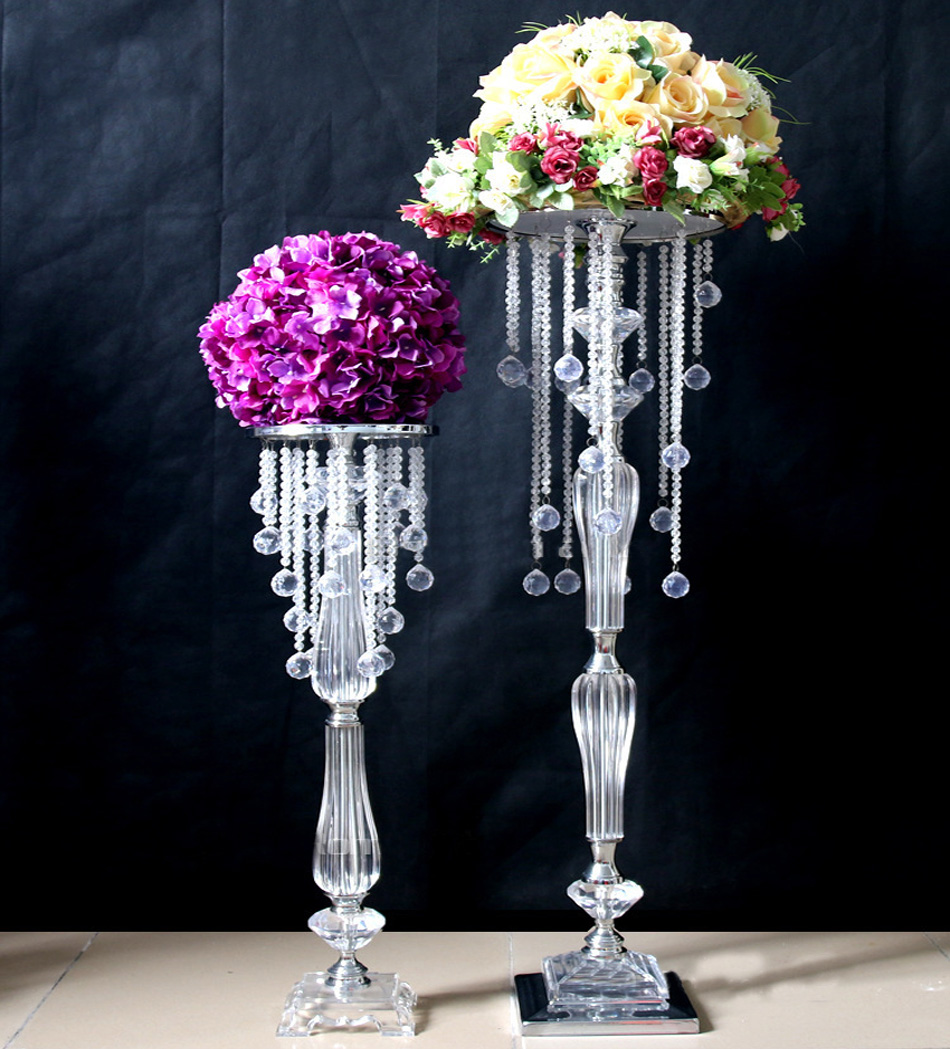 Online buy wholesale wedding centerpieces crystal from for Buy wedding centerpieces