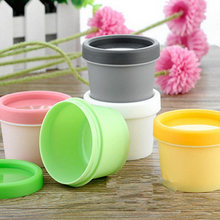 5PCS 50ml 100ml Gram Promotion Empty Plastic Facial Mask Container Bath Salt Bottle Women Cosmetic Fefillable Jar Packaging(China (Mainland))