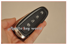 3 PCS/LOT KEYLESS SHELL SMART REMOTE KEY COVER CASE FOB FOR FORD LINCOLN 5 BUTTONS
