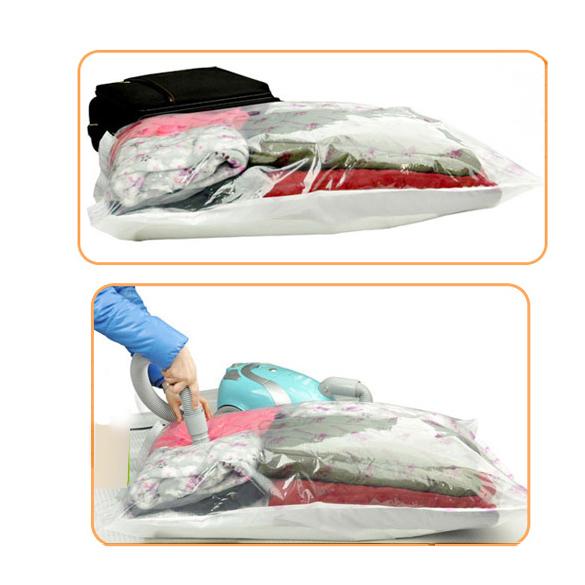 #Cu3 Storage Bag Space Saver Premium Vacuum Compressed Square Vaccum Compressed Bag(China (Mainland))