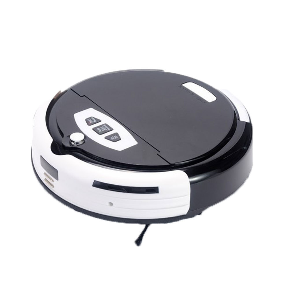 Newest Multifunction Robot Vacuum Cleaner Lazy Sweeping Machine Automatic Schedule Virtual Wall Household Aspirador GLTH000561(China (Mainland))