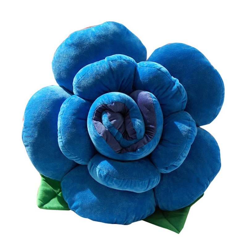 2015 New Fashion Floral pillow Rose Cushion Valentines Day present for girlfriend cushion Lovers day gift lovely pillow TI004(China (Mainland))