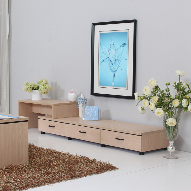 Free shipping modern tv cabinet brief furniture cabinet - Retractable tv cabinet living room furniture ...