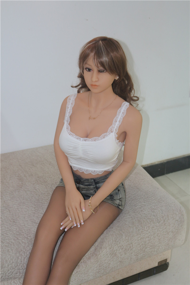 Top quality 163cm full silicone sex dolls skeleton,Japanese full size real love doll not blow up dolls,oral vagina anus sex doll(China (Mainland))