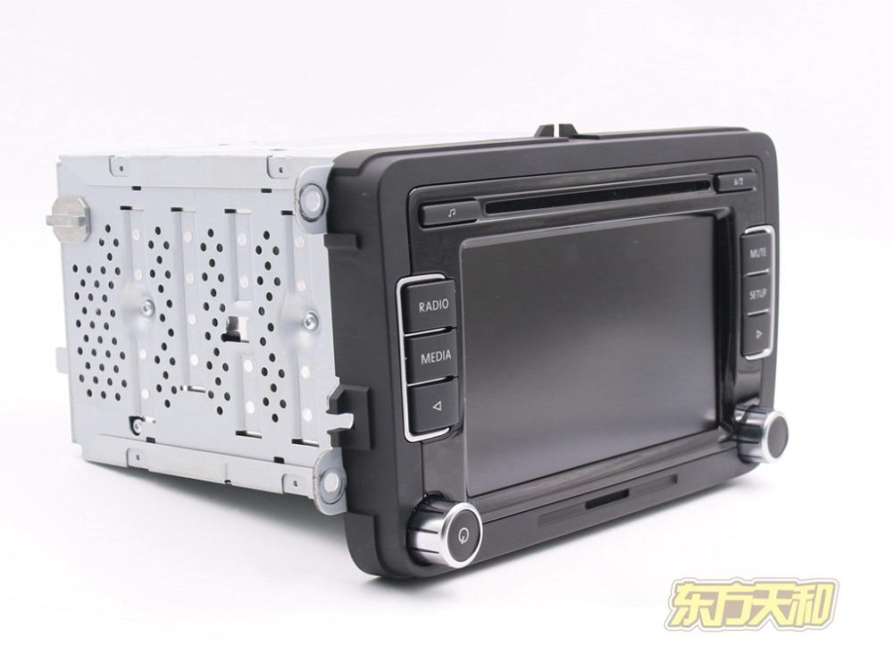 Original Car Radio RCD510 Bluetooth CD USB AUX SD Card RVC for VW Golf 5 6 Jetta MK5 MK6 CC Tiguan Passat B6 B7 with Code(China (Mainland))