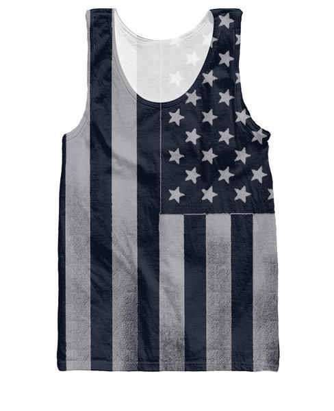 Americana Tank Top Summer Style American Flags dark patriotic design Vest Women Men Fashion Clothing Jersey Tops Plus size(China (Mainland))