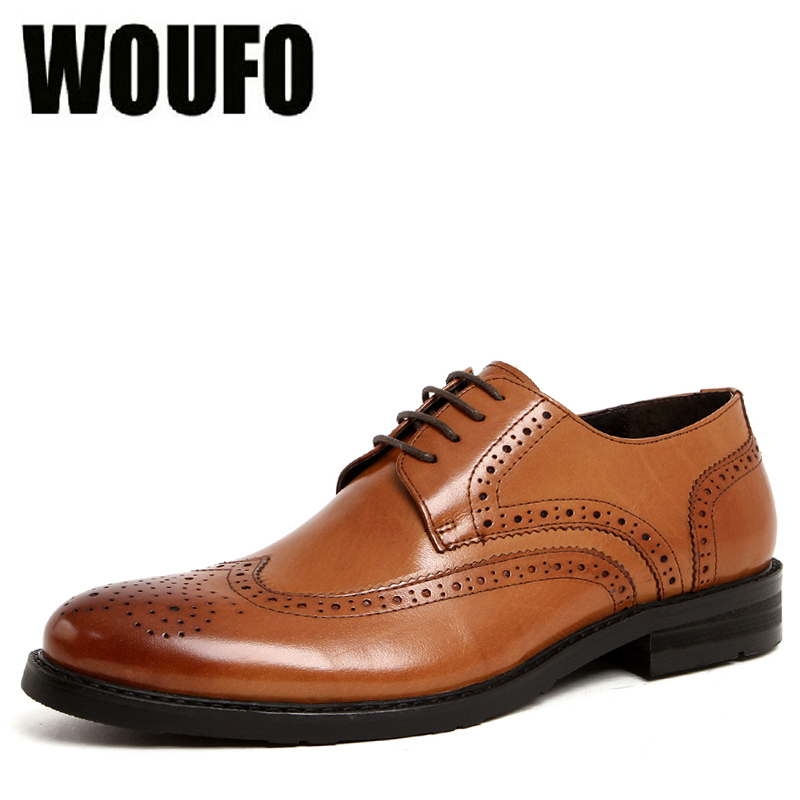 Free Ship! Brand New Arrival breathable male business shoes carved mens business dress shoes genuine leather, EU38-44!(China (Mainland))