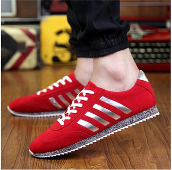 men shoes new brand men suede leather balance men casual