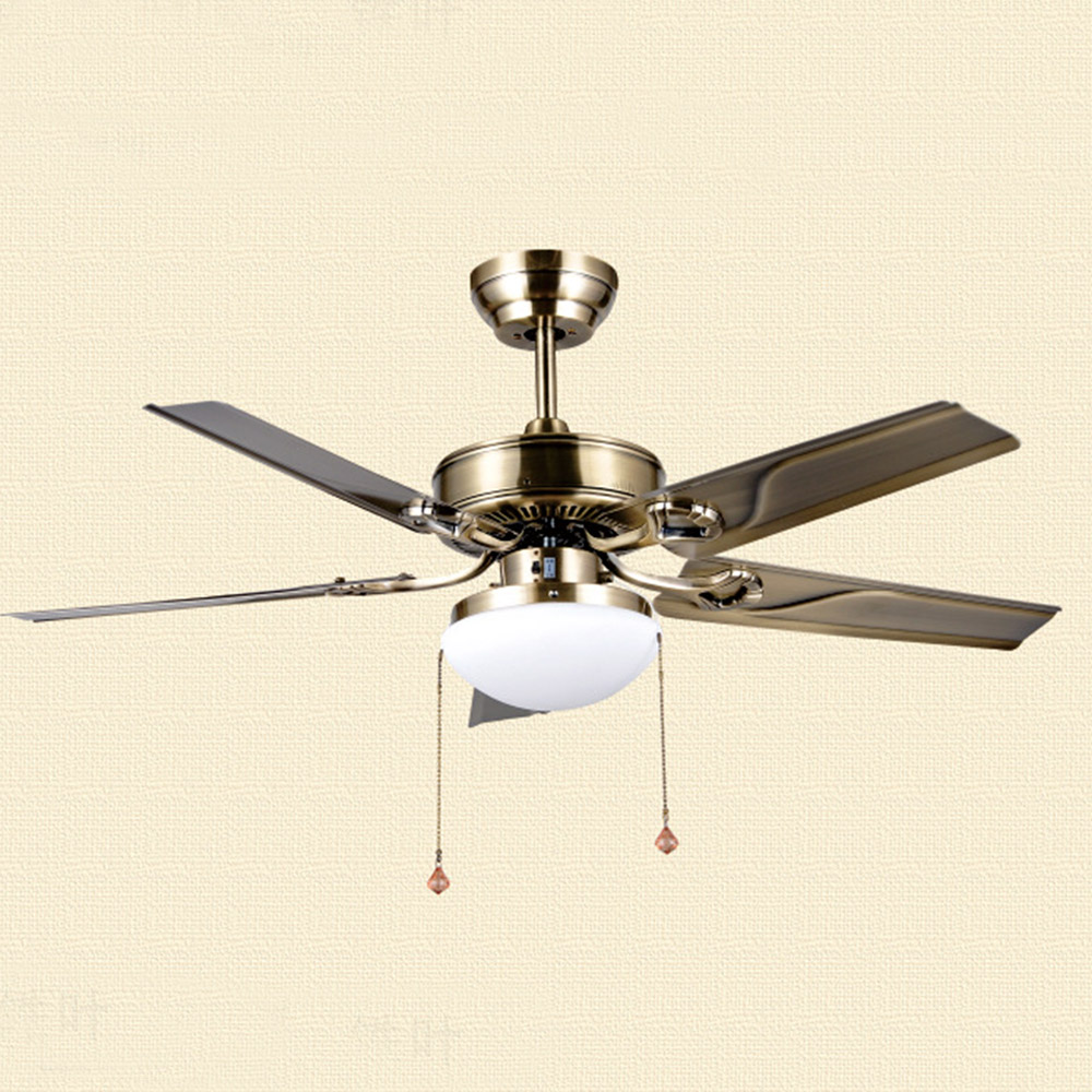 Wholesale High Quality American Retro Ceiling Fans Simple: New Modern Ceiling Fan European Ceiling Fan Crystal