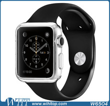Clear Crystal TPU Case for Apple Watch 42mm 38mm Soft Smart Watch Accessories In Stock with Free Stylus(China (Mainland))