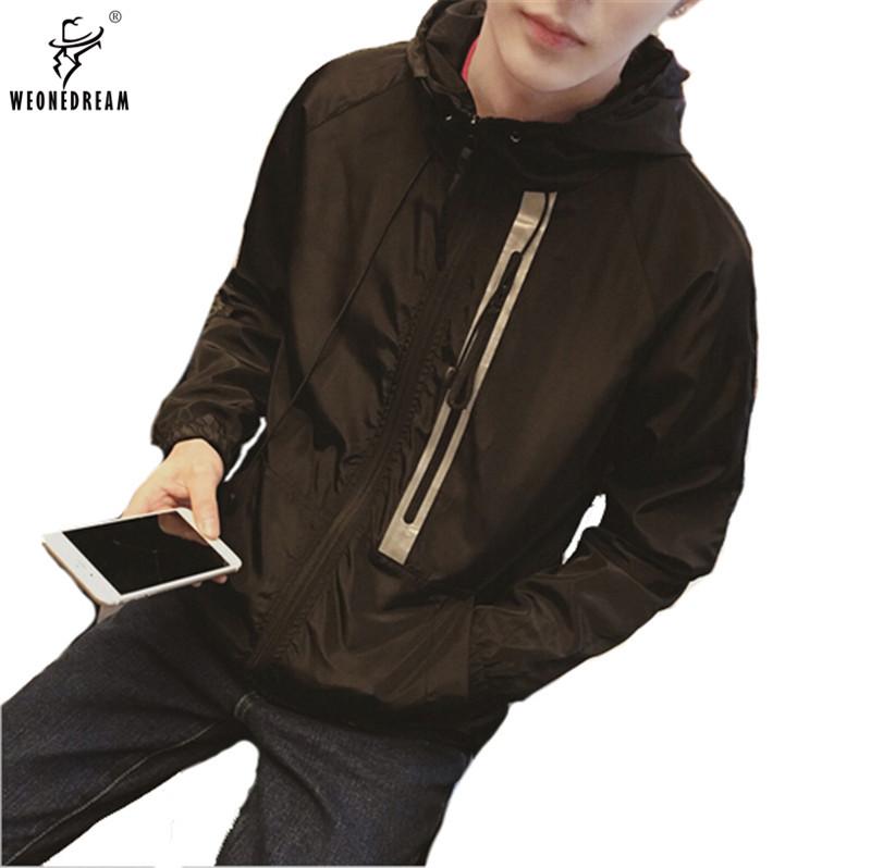WEONEDREAM Fashion Bomber Jacket Windbreaker Mens Casual Spring Jacket And Coat Autumn Clothing Veste Homme Jaqueta Masculina(China (Mainland))