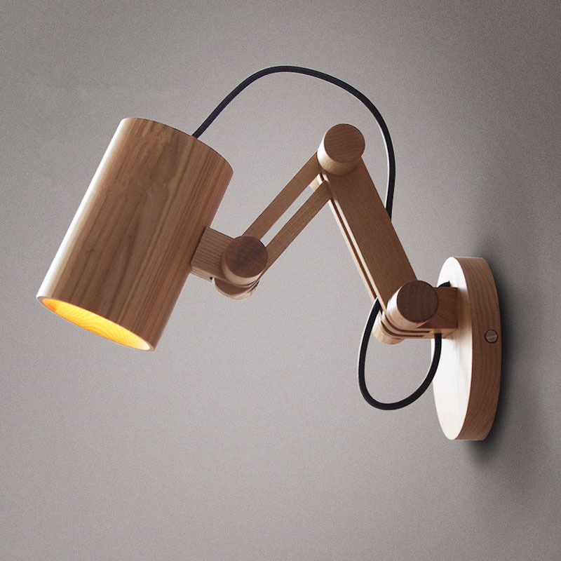 Oak Modern wooden Wall Lamp Lights For Bedroom. 2017 Wholesale Oak Modern Wooden Wall Lamp Lights For Bedroom Home