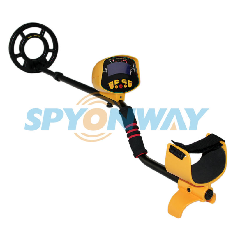 free shipping valuable gold search detecting  underground metal detector MD3010