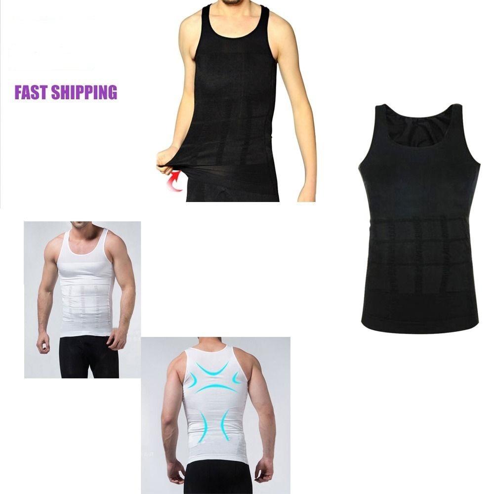 2015 Men's Body Shaper Slimming Shirt Waist Training Corsets MenTummy Waist Vest Lose Weight Underwear Shapewear Size M-XXL(China (Mainland))