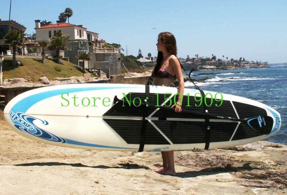 schlepper stand sup paddleboard easy carry strap sup shoulder sling board carrier surf boards surfboard kitesurf fins fcs(China (Mainland))