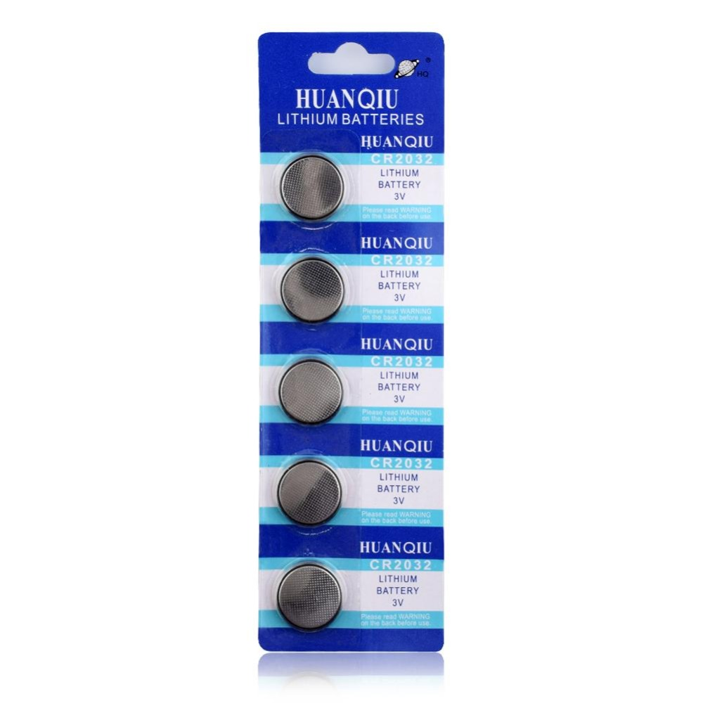 Button battery CR2032 5 Pcs 3V Lithium Coin Cells Button Battery 5004LC ECR2032 DL2032 KCR2032 EE6227