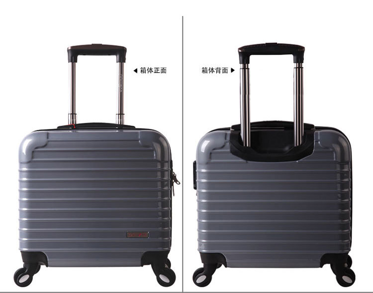 2016 high grade air lightweight portable business dedicated TSA Custom Lock rotary universal wheel luggage(China (Mainland))