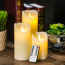 LED Electronic Flameless Candle Lights Remote Control Flame Flashing Luminara battery operated Candle Lamps Household Decoration(China (Mainland))