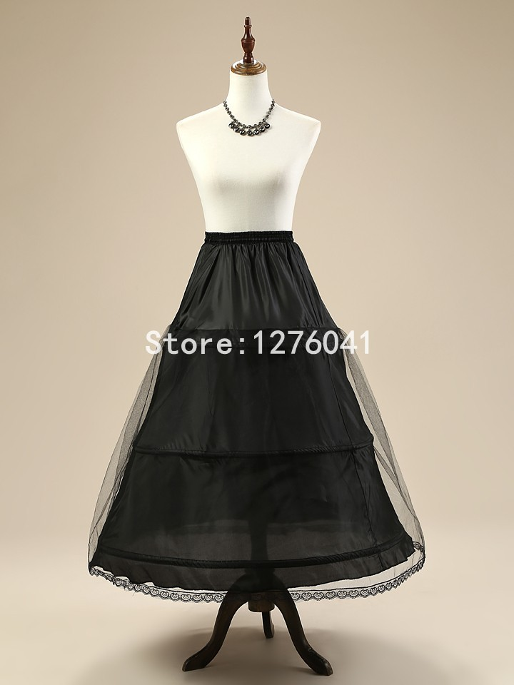 New 3 Hoop Petticoat 2 Layer Wedding A line Crinoline Accessories Hot sale Underskirt Real Sample Free Shipping 2015 NN1849(China (Mainland))