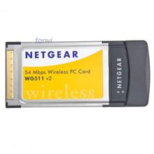 Brand New WG511 V2 54 Mbps PCMCIA slot Wireless Wifi PC Card for Laptops Notebooks Lan Dongle Network Wlan Wi-Fi Adapter(China (Mainland))