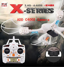Free shipping MJX  X400 RC Drone 2.4G 4CH 6-Axis RTF RC Helicopter Quadcopter With /without C4002  HD Camera 100% Original(China (Mainland))