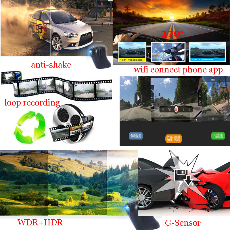Best Car Camera For BMW 5 Series E60 E61 Rearview Mirror Camera And Video Recorder Automobile Car DVR Cheapest Camcorder
