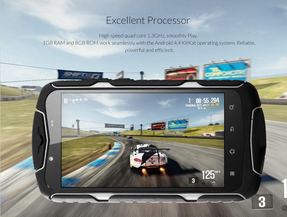 No.1 X1 X-men: Original, IP68 Waterproof Phone Quad Core 1GB RAM 8GB ROM Android 4.4OS 13MP WCDMA OTG Shockproof X1 Smart phone(China (Mainland))