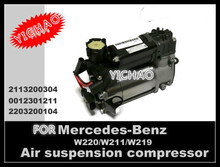 remanufactured BRAND NEW auto parts 2014 Hot selling air suspension pump for Benz W220 & W211 OE# A2113200304 211 320 03 04