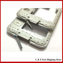 1/Lot. New Original Mddle Bezel Samsung Galaxy S5 SV G900F G900H G900P G9008W Replacement Parts Quality Assurance - C & S Fast Shipping store