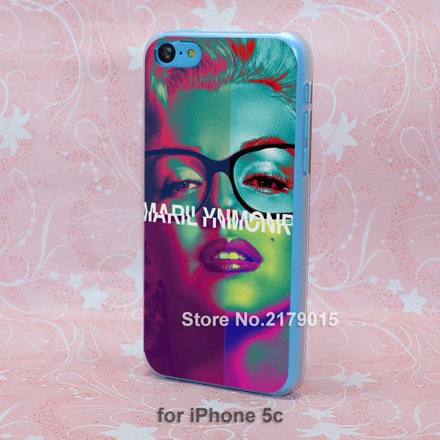 Case iPhone SE 4 4s 5 5s 5c 6 6s Plus Marilyn Monroe Pop Art