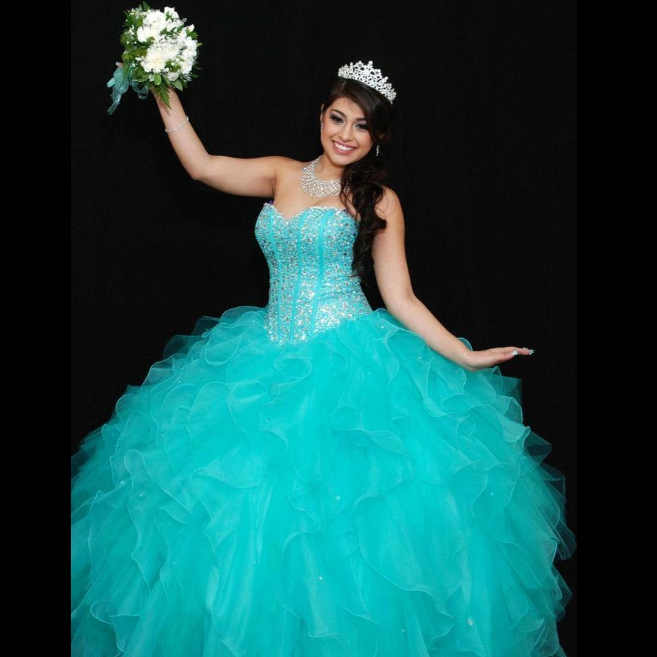 online get cheap quinceanera dresses turquoise aliexpress