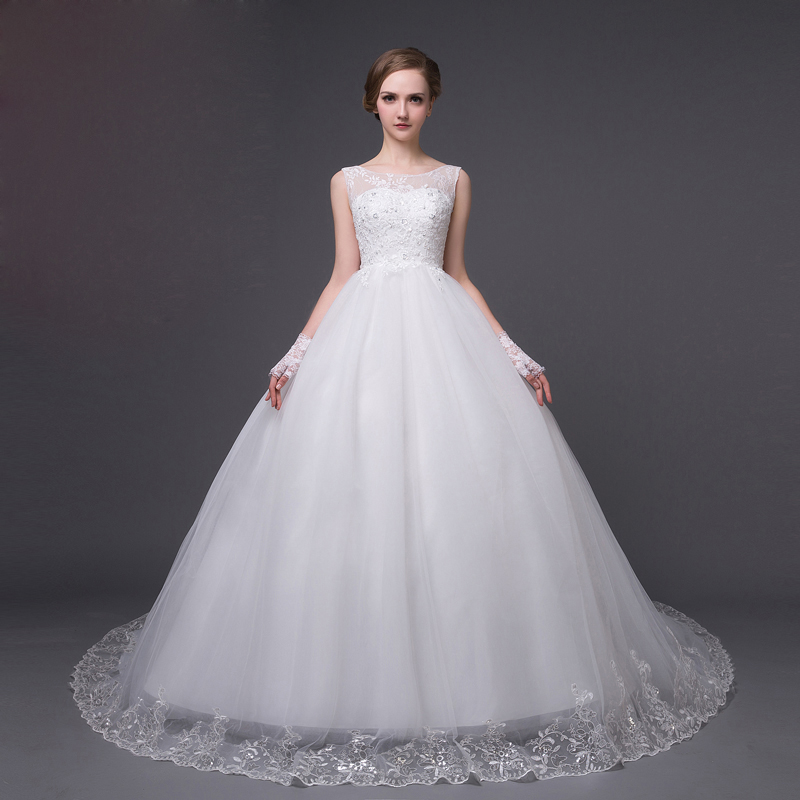 QQXN01 china online store cheap casamento weeding dress robe de mariage lace wedding gowns corset ball gown vestido novia 2016(China (Mainland))