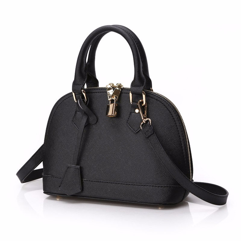 Classic Shell Bag Small Bag Women Designer Luxury Shell-like Handbag Ladies Fashion Plain Shoulder Bag PU Leather Crossbody Bag