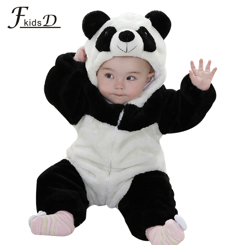 baby boy character rompers baby boy panda modeling clothes cute baby