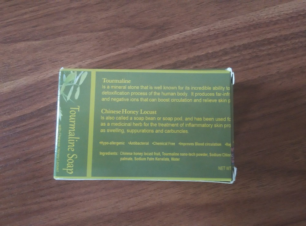100g New active energy bamboo Tourmaline soap For ance Face & Body Beauty Healthy Care soap