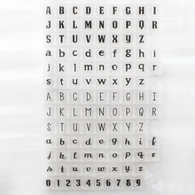 1PCS Eco-friendly Transparent Stamp  Word  Clear Stamp For DIY Scrapbooking Photo Album Diary Decoration Supplies(China (Mainland))