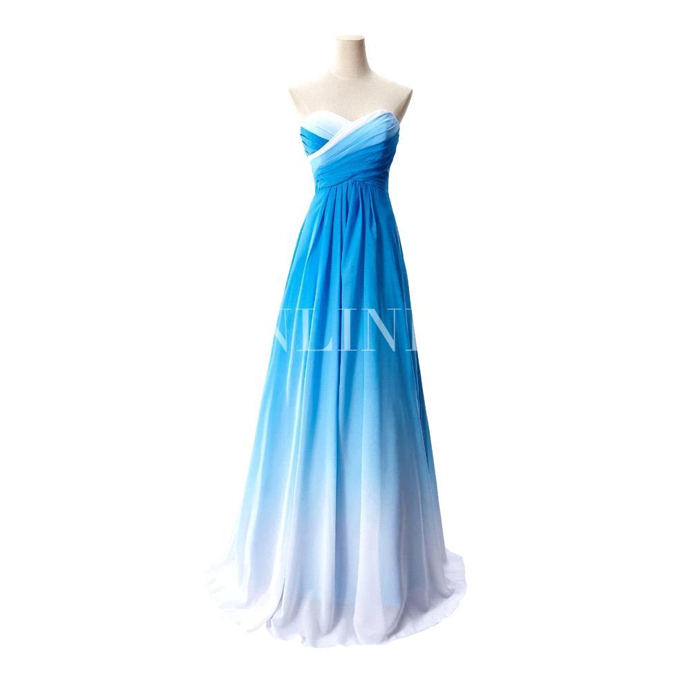 Niedlich Blau Ombre Prom Kleid Bilder - Hochzeit Kleid Stile Ideen ...