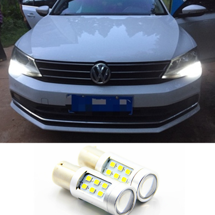 LED DRL Driving Daytime Running Day Fog Lamp Light For VW Sagitar Jetta MK6 2011-2013(China (Mainland))