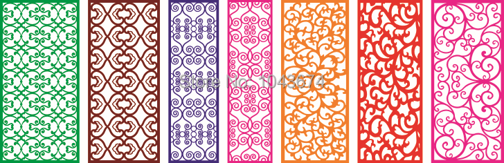 2d vector files 3d cnc models used for decorative hollow boards vector ...