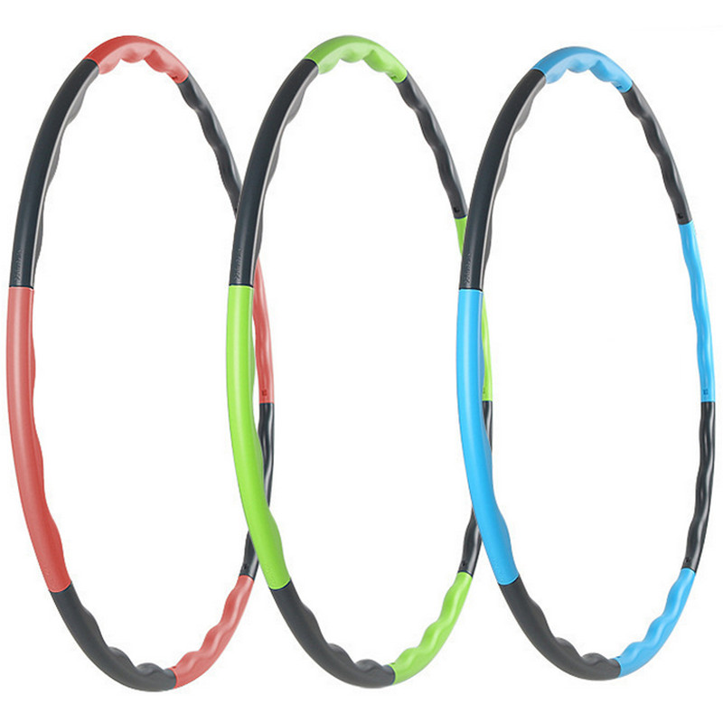 80CM fitness removable weight loss Hard Tube equipment waist slimming hula hoops three colors free shipping CLL0063 P20(China (Mainland))
