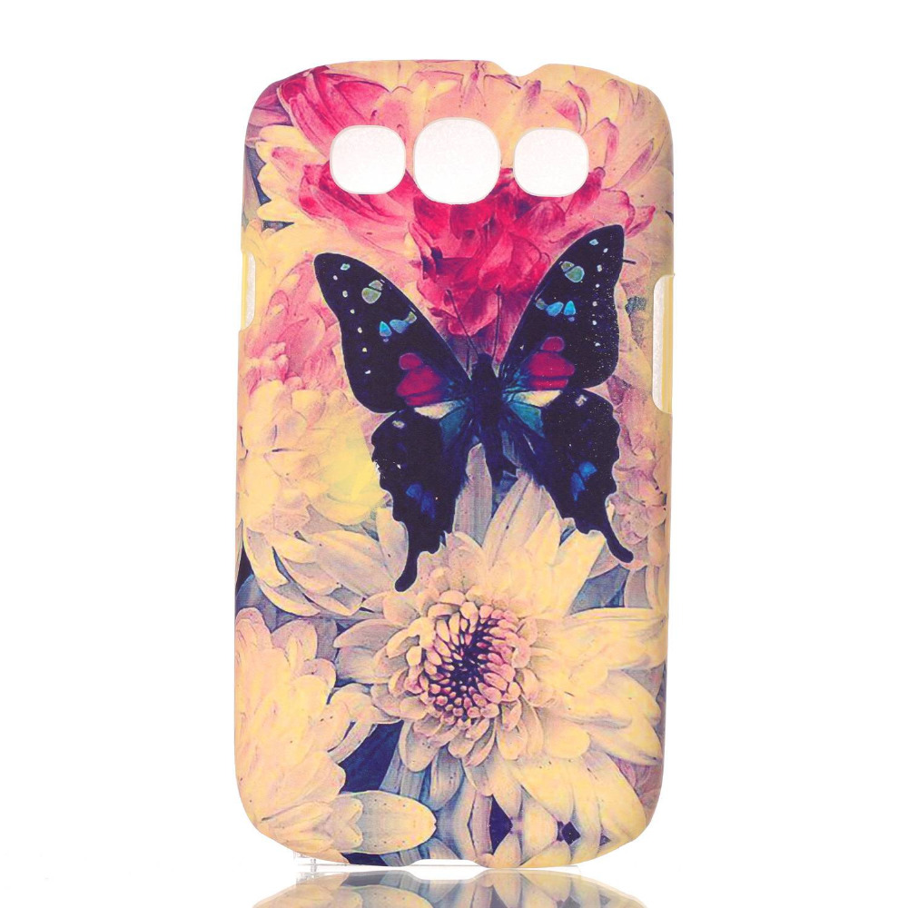 Fundas S3 PC Silicone Cell Phone Shell For Samsung Galaxy S3 i9300 Hard Back Cover Mobile Telephone Case Slim Bags Coque(China (Mainland))