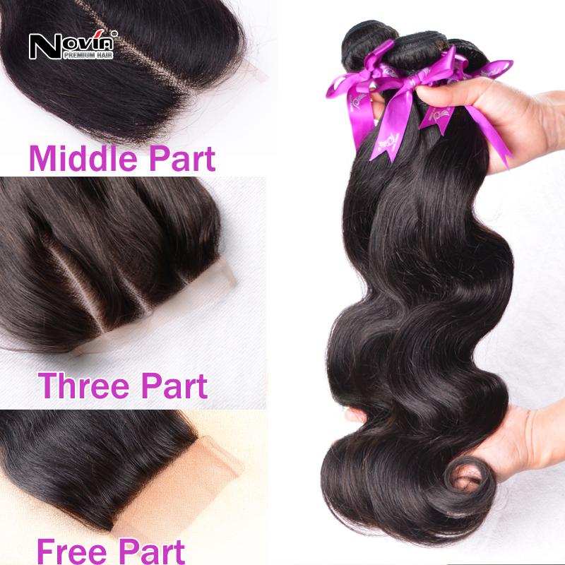 Rosa brazilian Virgin Hair Body Wave 3pcs lot Swiss Lace Base Closure With Silk Bundles free/middle/3 Part Wavy Human Hair Weave<br><br>Aliexpress