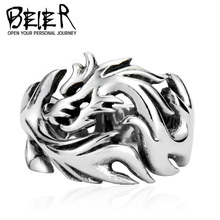 2013 Fashion Jewelry Dragon Rings Men High Quality STAINLESS Steel free shipping USA UK Russian Brazil TG0004 FS