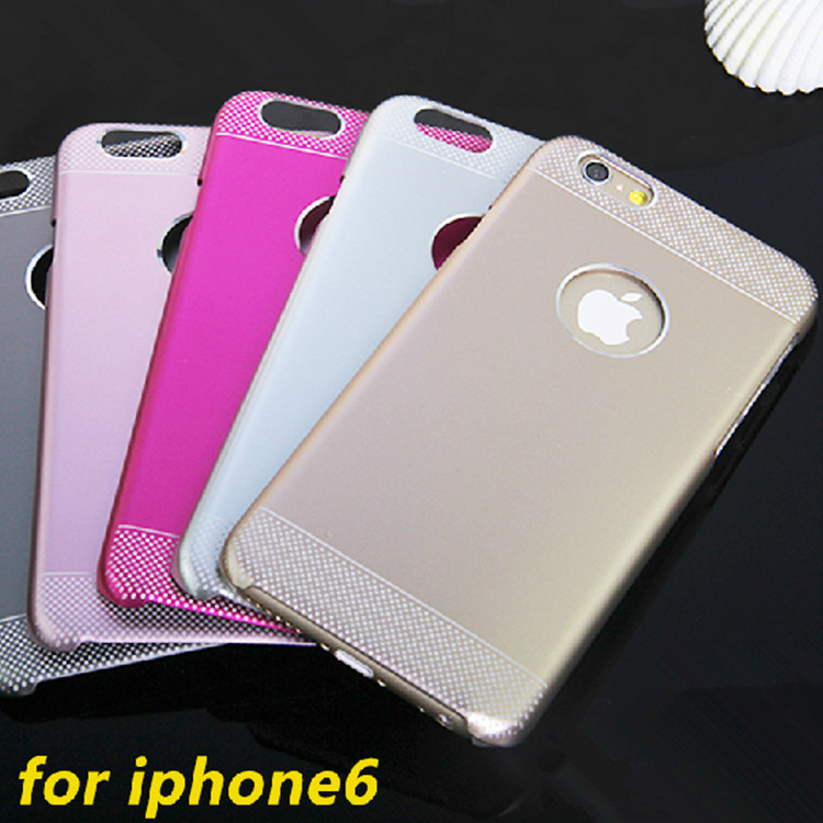 2014 Hot ! Motomo Case Cover Apple iphone 6 6s 4.7 inch Luxy Back Cases Brushed Aluminum Metal - Digital_online007 store