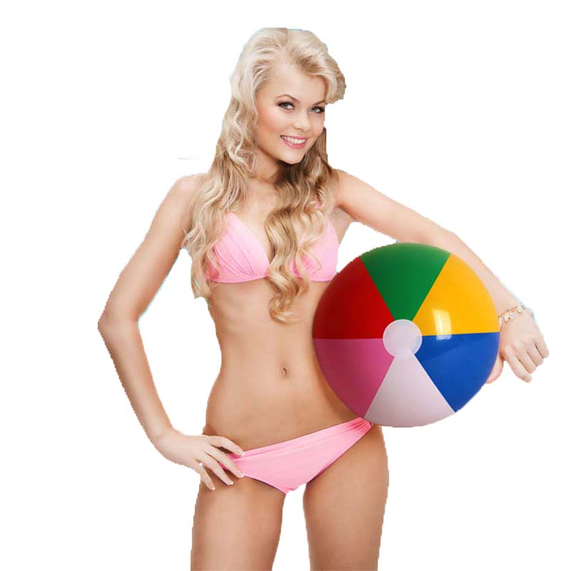3 Pieces/Set 40cm Colorful Inflatable Beach Ball For Adlut Children Game Play Beach Volleyball Outdoor Fun Water Sport Toys(China (Mainland))