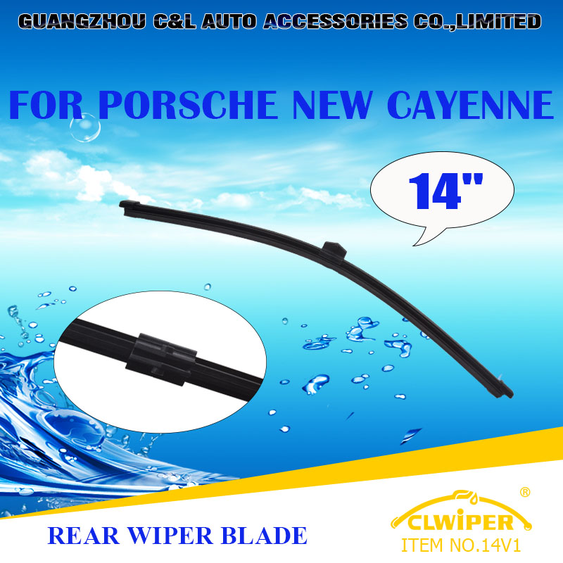 """For PORSCHE NEW CAYENNE, Rear Car Windshield Windscreen Windscreen Wiper Blade 14"""" Good quality Cars styling accessories(China (Mainland))"""