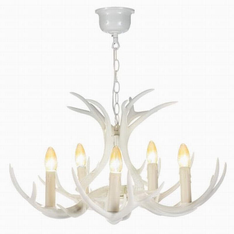 Modern Contempoary Large Candelabra Chandeliers White