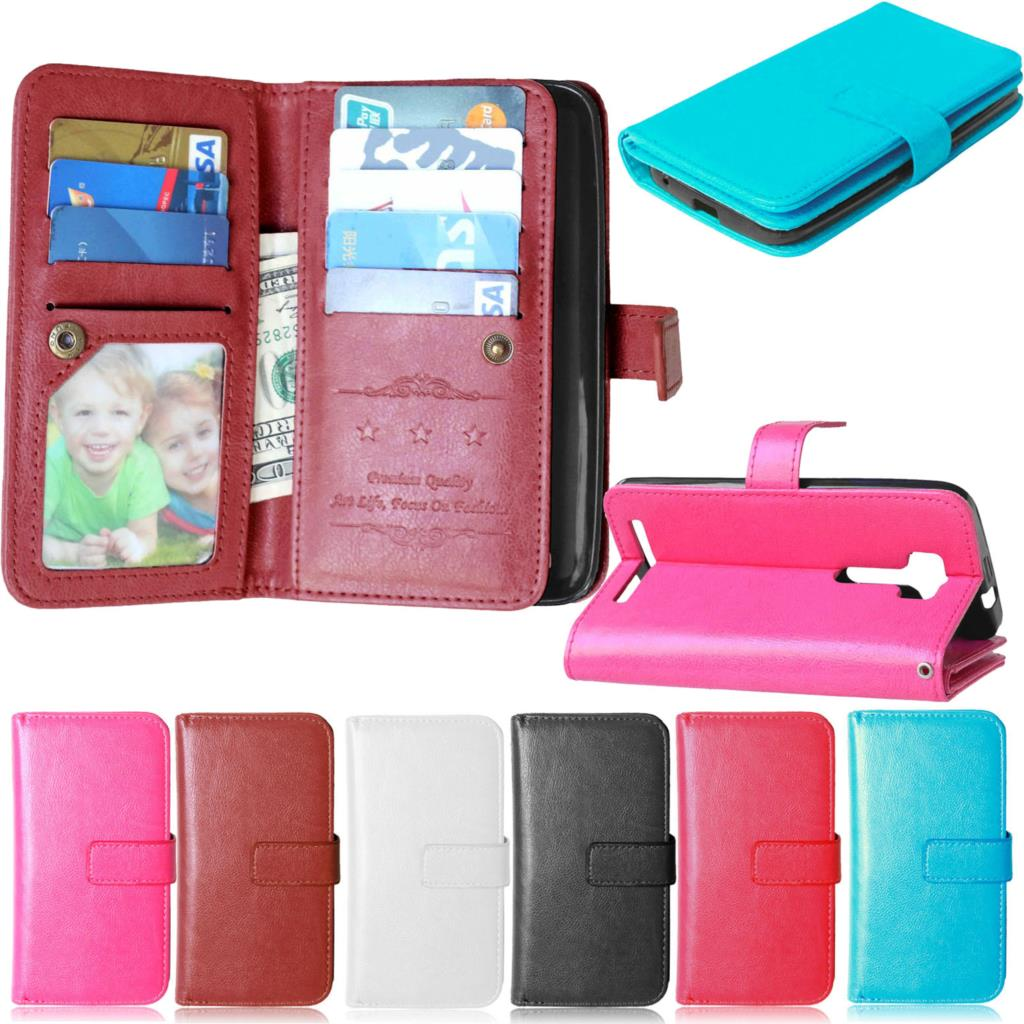 Wallet Leather Case Asus Zenfone 2 Laser ZE500KL ZE500KG Phone Luxury Coque Cover Card Holder Flip Cases Capa Fundas  -  MJ-Case Trading Co.,Ltd store