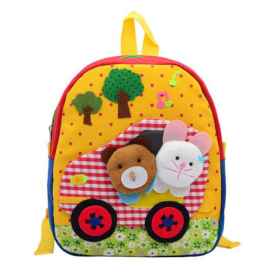 2015 розничная корейский новый милый ребенок, школьные сумки плюшевые кукла мультфильм ...