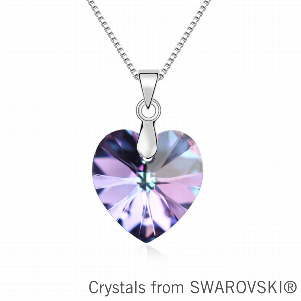 100% Original SWAROVSKI ELEMENTS crystal heart pendant necklace new arrival for 2015 women gift (NO BOX)(China (Mainland))